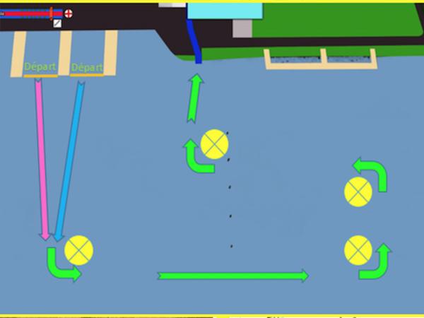Parcours natation XS